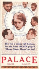 Ten Cents a Dance (1931) Theater Advert