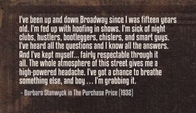 The Purchase Price (1932)