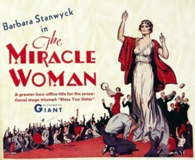 The Miracle Woman (1931) Poster