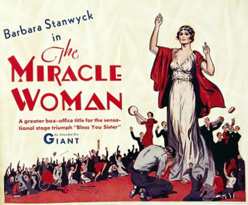 The Miracle Woman (1931) | Barbara Stanwyck