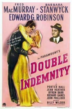 Barbara Stanwyck Movies: Double Indemnity Poster
