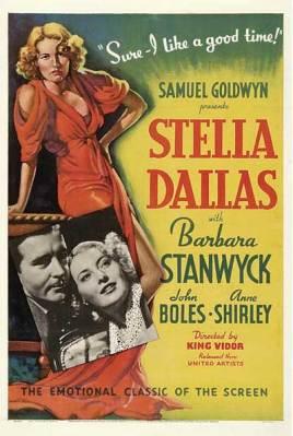 Barbara Stanwyck Movies: Stella Dallas Poster