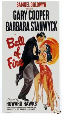 Barbara Stanwyck Movies: Ball of Fire Poster
