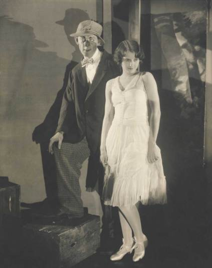 Barbara Stanwyck and Hal Skelly in a Scene of Burlesque