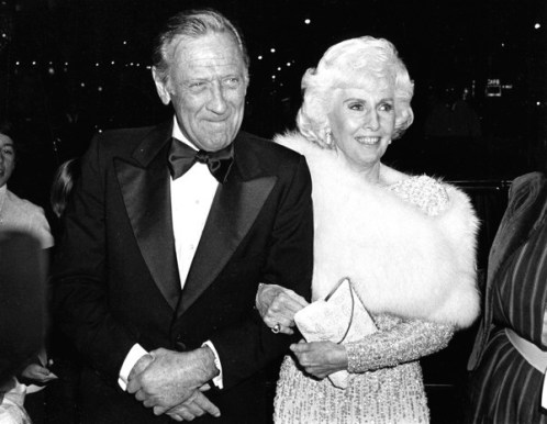 William Holden at the Lincoln Center Tribute to Stanwyck in 1981