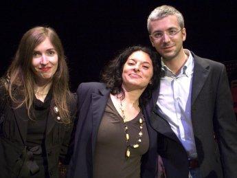 Barbara Baraldi, Gaia Conventi e Martino Gozzi