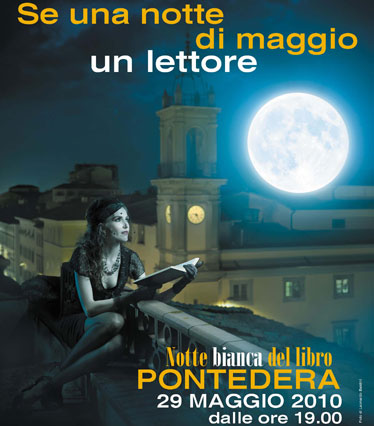 Barbara Baraldi - La notte bianca del libro di Pontedera