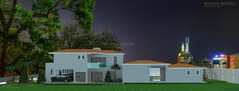 Casas Garagem Coberta Barbara Borges Projetos