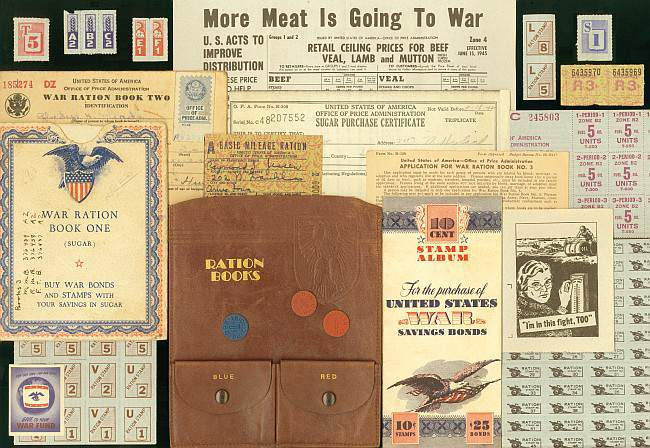WWII Ration Books at Christmas- Start With What You Know