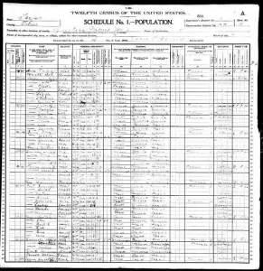 1900 Texas Titus Co. Martha Lancaster