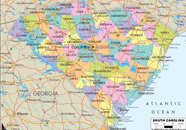 South Carolina County Marriage Records