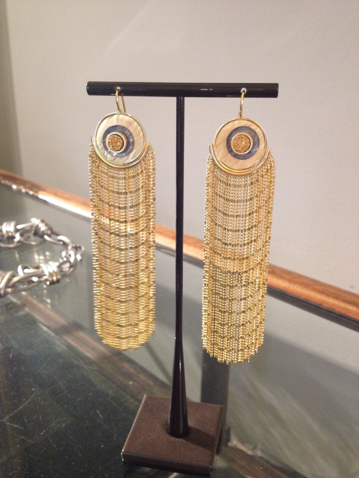 earrings glamorous and perfect with different outfits