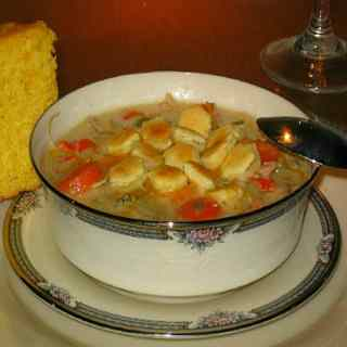 Grilled Chicken Chowder