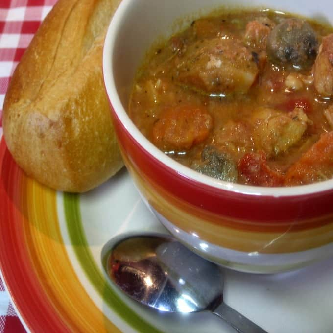 Italian Chicken Stew