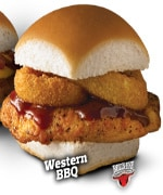 White Castle's Chicken Slider