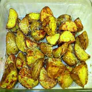 Grill Roasted Potatoes