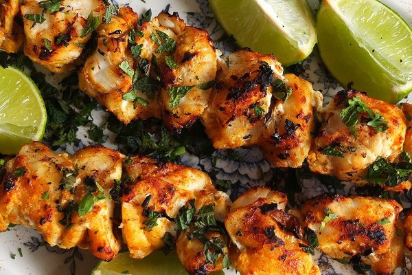 Simple Monkfish Tikka