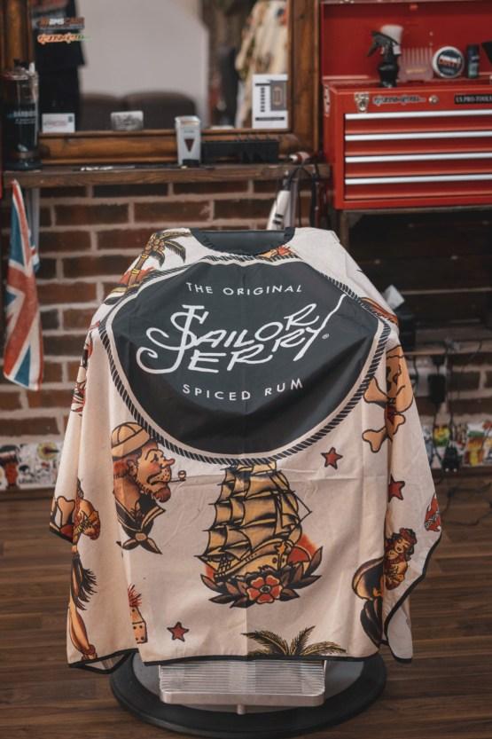 Sailor Emblem Barber Cape