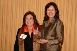 Gisella Apodaca and Secretary of Labor Hilda Solis