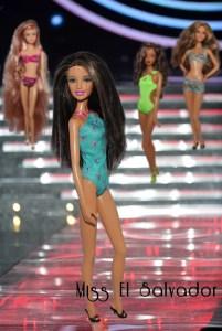 Miss Barbie El Salvador - Melanie