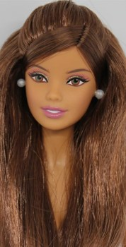 Barbie Hair Brown