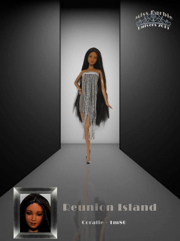 Miss Barbie Coralie
