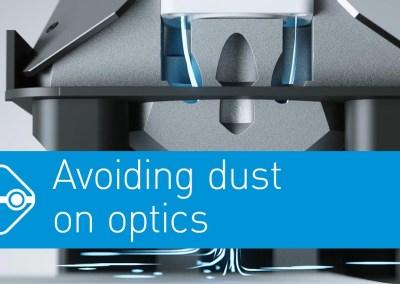 Video: Avoiding dust on optics