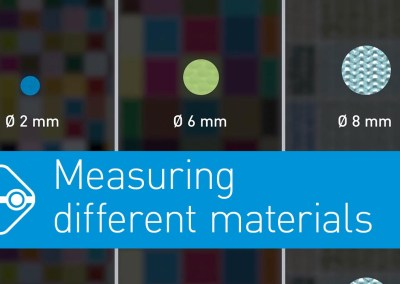 Video: Measurement on different digitally printed materials