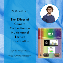 Research publication:  The Effect of Camera Calibration on Multichannel Texture Classification