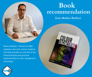 Book recommendation: Colour Engineering – Achieving Device Independent Colour