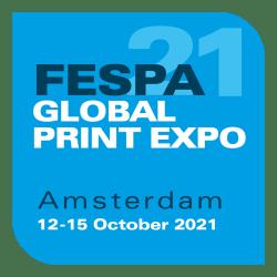 FESPA Global Print Expo 2021, October 12-15, Amsterdam