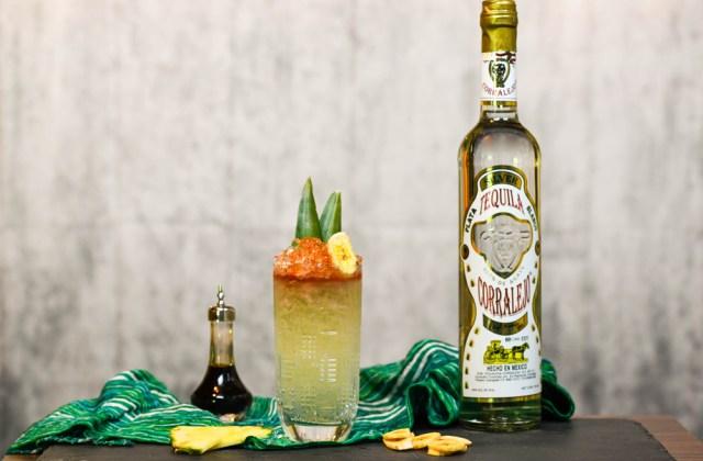 Corralejo Tequila Tiki Cocktail