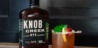 Knob Creek Citrus Rye Cocktail