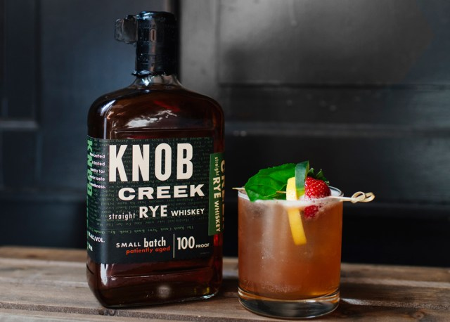 Knob Creek Citrus Rye Cocktail