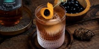 Casamigos Añejo New Fashioned Drink Recipe