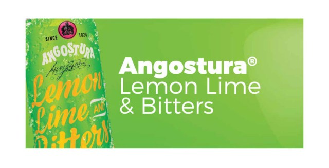 Angostura® Lemon, Lime & Bitters Can