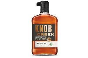 Knob Creek Cask Strength Rye Whiskey Bottle