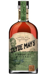 Clyde May's Straight Rye Whiskey Conecuh Brands