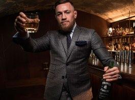 conor mcgregor Proper No. Twelve Irish Whiskey eire born spirits