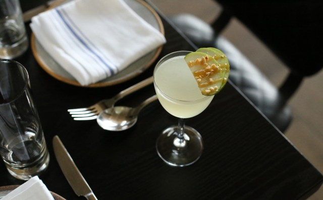 La Fete's Caramel Apple Martini cocktail recipe