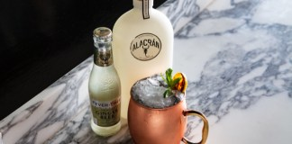 Tequila Alacran's Mula Alacran cocktail recipe
