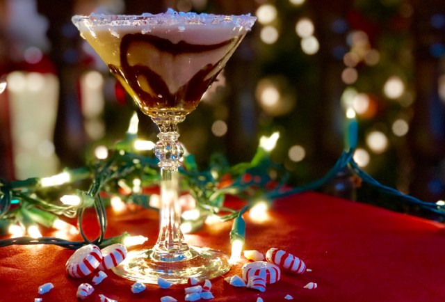 Pancho's Mexican Restaurant's Peppermint Pancho martini