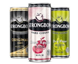 Strongbow 100 Cal Slim Cans