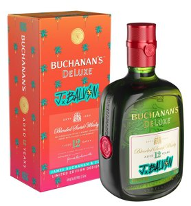 BUCHANAN'S DeLuxe Blended Scotch Whisky x J Balvin Limited Edition Design