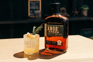 Knob Creek's Luck of the Rye cocktail recipe