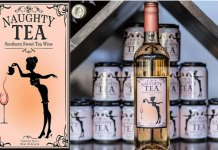 Naughty Tea wine
