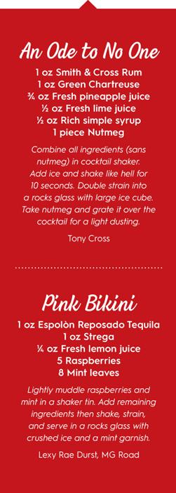 tiki cocktail recipes