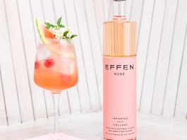 EFFEN Watermelon Rosé Cooler Cocktail Recipe
