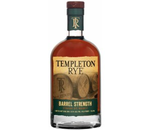 Templeton Rye Whiskey Barrel Strength Straight Rye Whiskey