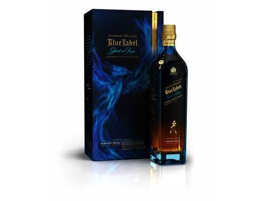 ohnnie Walker Blue Label Ghost and Rare Glenury Royal